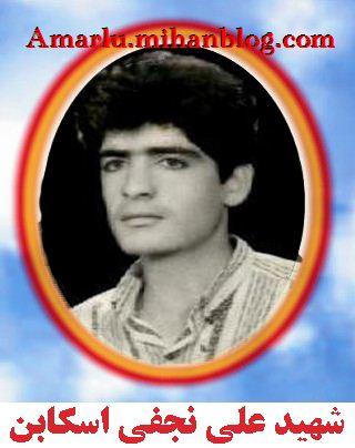 شهید علی نجفی اسکابن