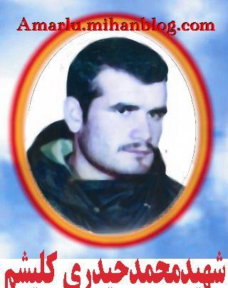 شهید محمد حیدری کلیشم