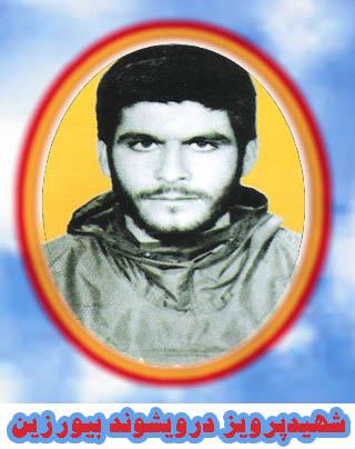 شهید پرویز درویشوند بیورزین